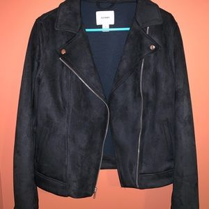 Suede black jacket